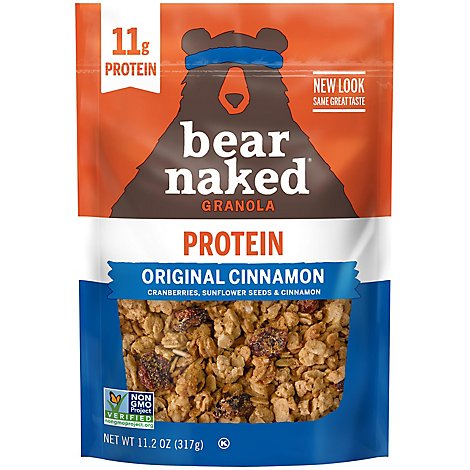 Bear Naked Granola Original Cinnamon - 11.2 Oz