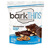 Bark Thins Dark Chocolate Pretzel With Sea Salt - 4.7 Oz