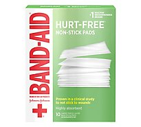 BAND-AID Pads Non-Stick Large - 10 Count