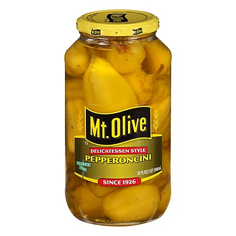 Mt. Olive Pepperoncini - 32 Fl. Oz.