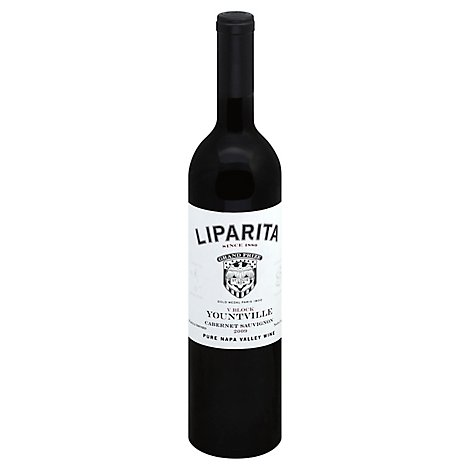 Liparita Yountville Cabernet Sauvignon Wine - 750 Ml