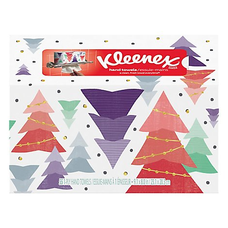 Kleenex Hand Towels 1 Ply Box - 55 Count