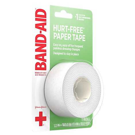 BAND-AID Paper Tape Small 1 Inch - Each
