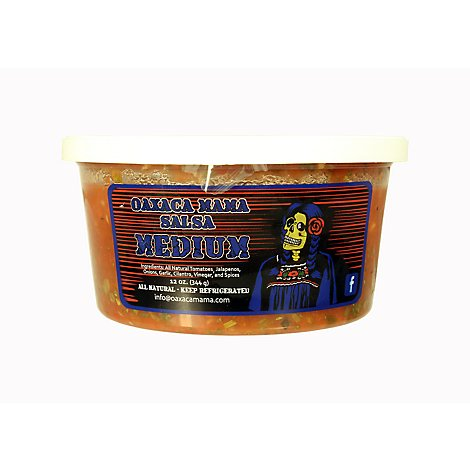 Oaxaca Mama Salsa Medium - 12 Oz