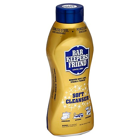 Bar Keepers Friend Cleanser Soft - 26 Oz