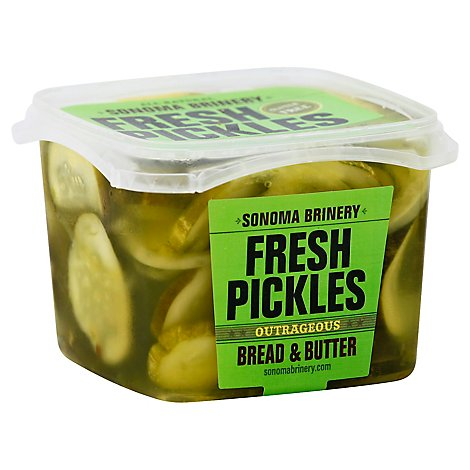 Sonoma Brinery Bread Butter Pickles - 16 Oz