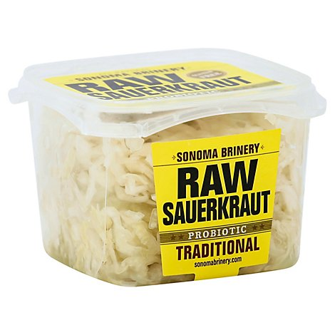 Sonoma Briner Raw Sauerkraut Traditional - 16 Oz