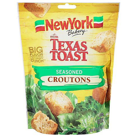 New York The Original Texas Toast Croutons Seasoned - 5 Oz