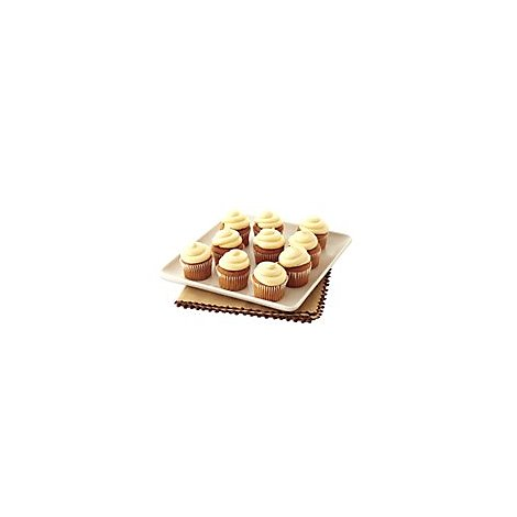 Bakery Cupcake Cake Pumpkin 10 Count - Each