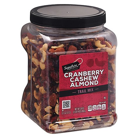 Signature SELECT Trail Mix Cranberry Cashew Almond - 30 Oz