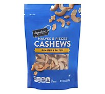 Signature SELECT Cashews Halves & Pieces Roasted & Salted - 5 Oz