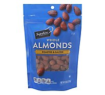 Signature SELECT Almond Roasted & Salted - 6 Oz