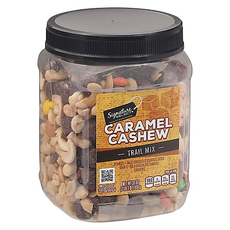 Signature SELECT Trail Mix Caramel Cashew - 33 Oz