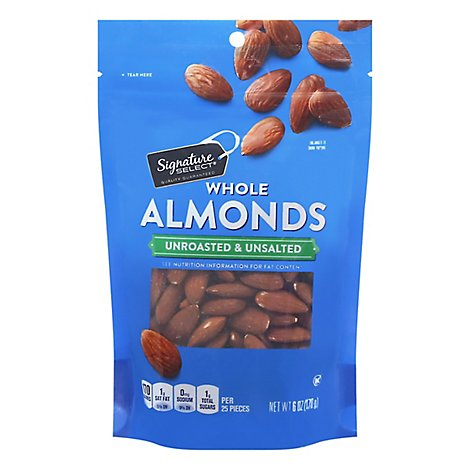 Signature SELECT Almond Whole - Online