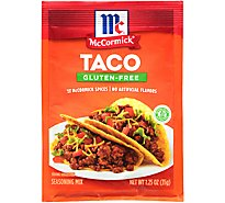 McCormick Seasoning Mix Taco Gluten Free - 1.25 Oz