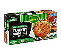 Jennie-O Turkey Store 93% Lean White Meat Turkey Burgers - 32 Oz