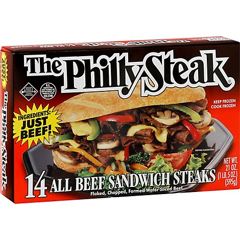 The Philly Steak - 21 Oz