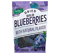 Signature Farms Wild Blueberries Dried - 5 Oz