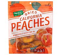 Signature Farms Dried Peaches California - 6 Oz