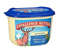 Challenge Butter Spreadable Flavored with Olive Oil - 15 Oz