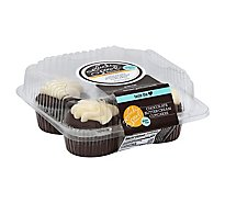 Lucky Spoon Cupcake With Van Buttercr Chocolate - 8 Oz
