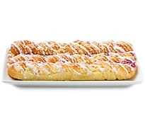Fresh Baked Raspberry Danish Coffee Cake  - Each