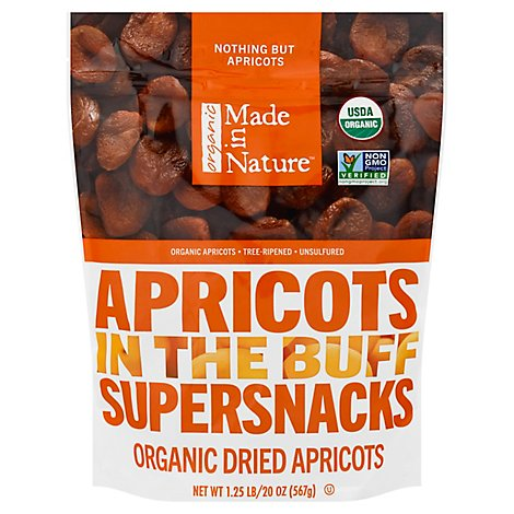 Made In Nature Organic Dried Apricots - 20 Oz.