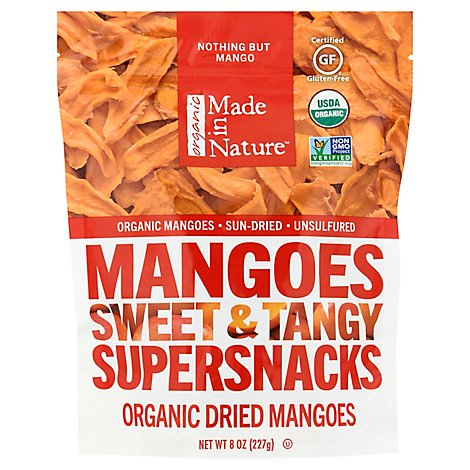 Made In Nature Organic Dried Mangoes - 8 Oz.