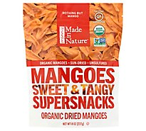 Made In Nature Dried Mango Organic - 8 Oz