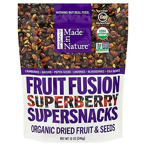 Made In Nature Organic Superberry Fruit Fusion - 12 Oz.