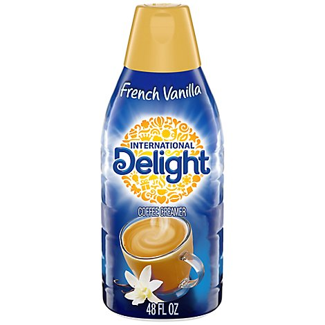 INTERNATIONAL Delight Coffee Creamer Gourmet French Vanilla - 48 Fl. Oz.