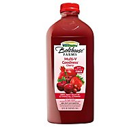 Bolthouse Farms 100% Fruit Juice Smoothie Multi-V Goodness Cherry - 52 Fl. Oz.