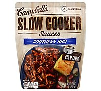 Campbells Sauces Slow Cooker Southern BBQ Pouch - 12 Oz