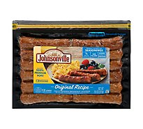 Johnsonville Breakfast Sausage Links Original Recipe Fully Cooked 12 Links - 9.6 Oz