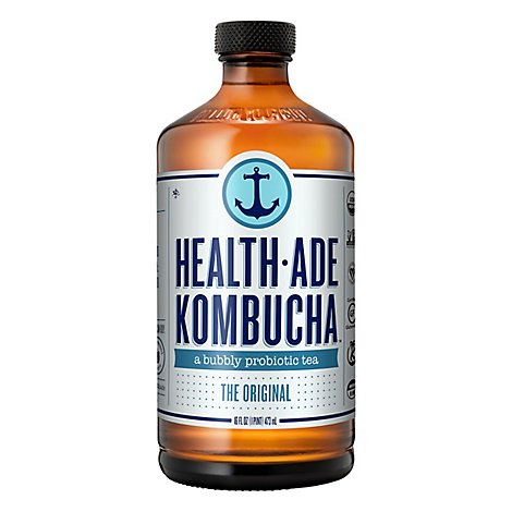 Health-Ade Kombucha Original - 16 Fl. Oz.