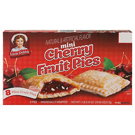 Little Debbie Fruit Pies Cherry - 17.19 Oz