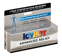 Icy Hot Cream Pain Relief Advanced Relief - 2 Oz