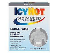 Icy Hot Advanced Relief Medicated Patch - 1-4 Count