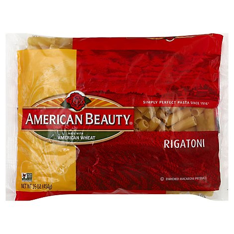 American Beauty Pasta Rigatoni - 16 Oz