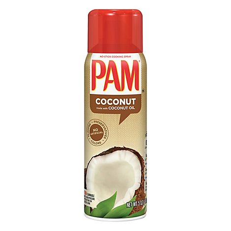 PAM Cooking Spray No Stick Coconut Oil Non Hydrogenated - 5 Oz