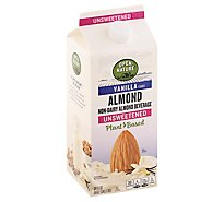 Open Nature AlmondMilk Vanilla Unsweetened Half Gallon - 64 Fl. Oz.