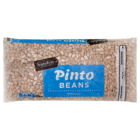 Signature SELECT Beans Pinto - 5 Lb