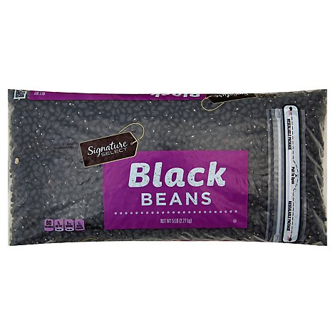 Signature SELECT Beans Black - 5 Lb