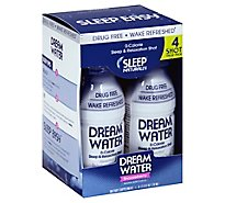 Dream Water Snoozeberry Sleep And Relaxation Drug Free - 4-2.5 Fl. Oz.