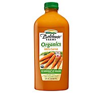 Bolthouse Farms Carrot 100% Juice Organic - 52 Fl. Oz.