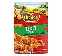 Ore-Ida Potatoes French Fried Seasoned With Skins Zesty Twirls Spicy - 28 Oz