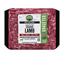 Open Nature Lamb Ground Lamb 85% Lean 15% Fat Grass Fed - 16 Oz