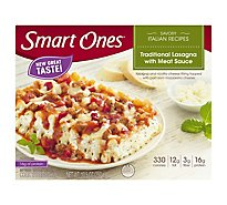 weightwatchers Smart Ones Savory Italian Recipes Traditional Lasagna with Meat Sauce - 10.5 Oz