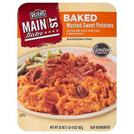 Resers Main St. Bistro Baked Sweet Mashed Potato - 20 Oz