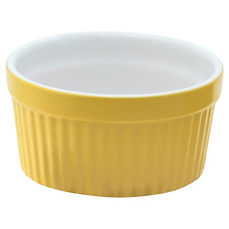 Texture Ramekin 6 Oz Sun/White - Each